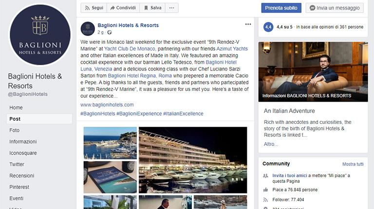 RENDEZ-V MARINE 2020 – Baglioni Hotels