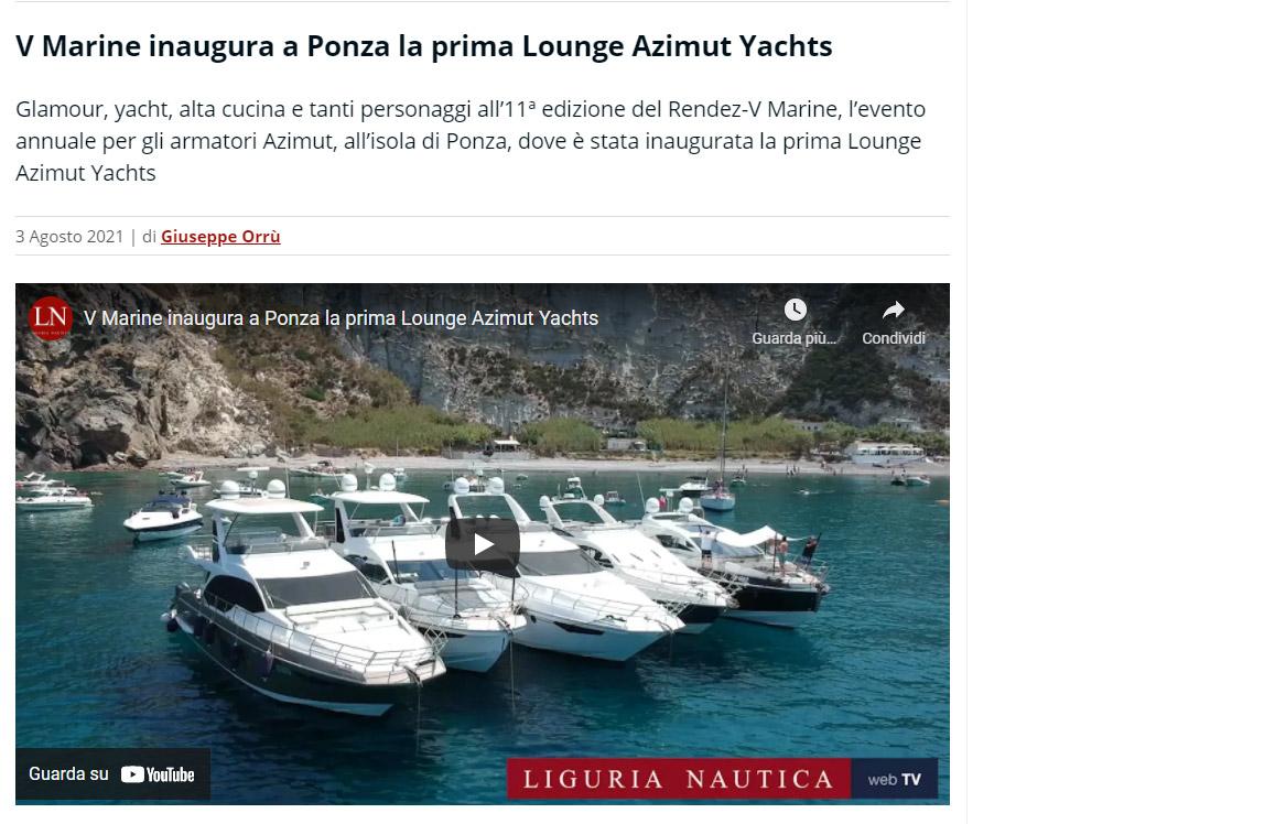 RENDEZ-V MARINE 2021 ligurianautica.com